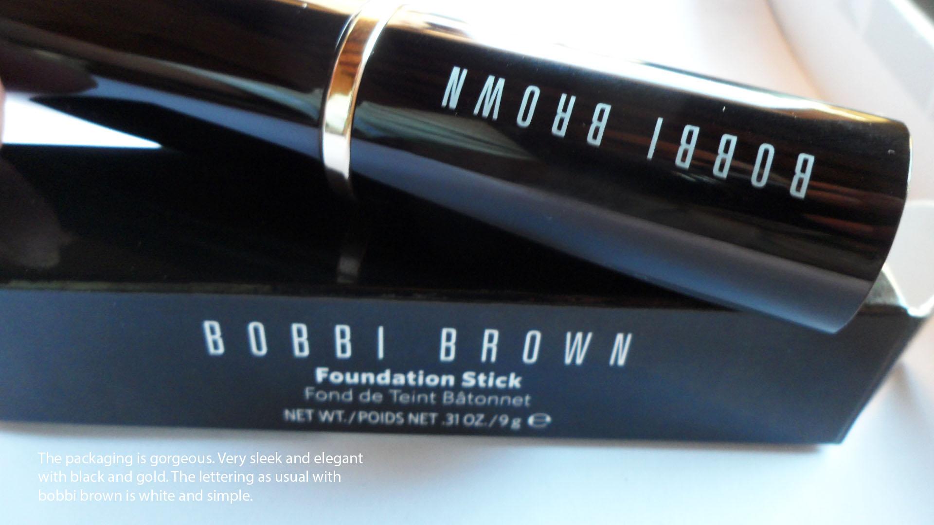 Introducing, the Bobbi Brown new skin foundation stick