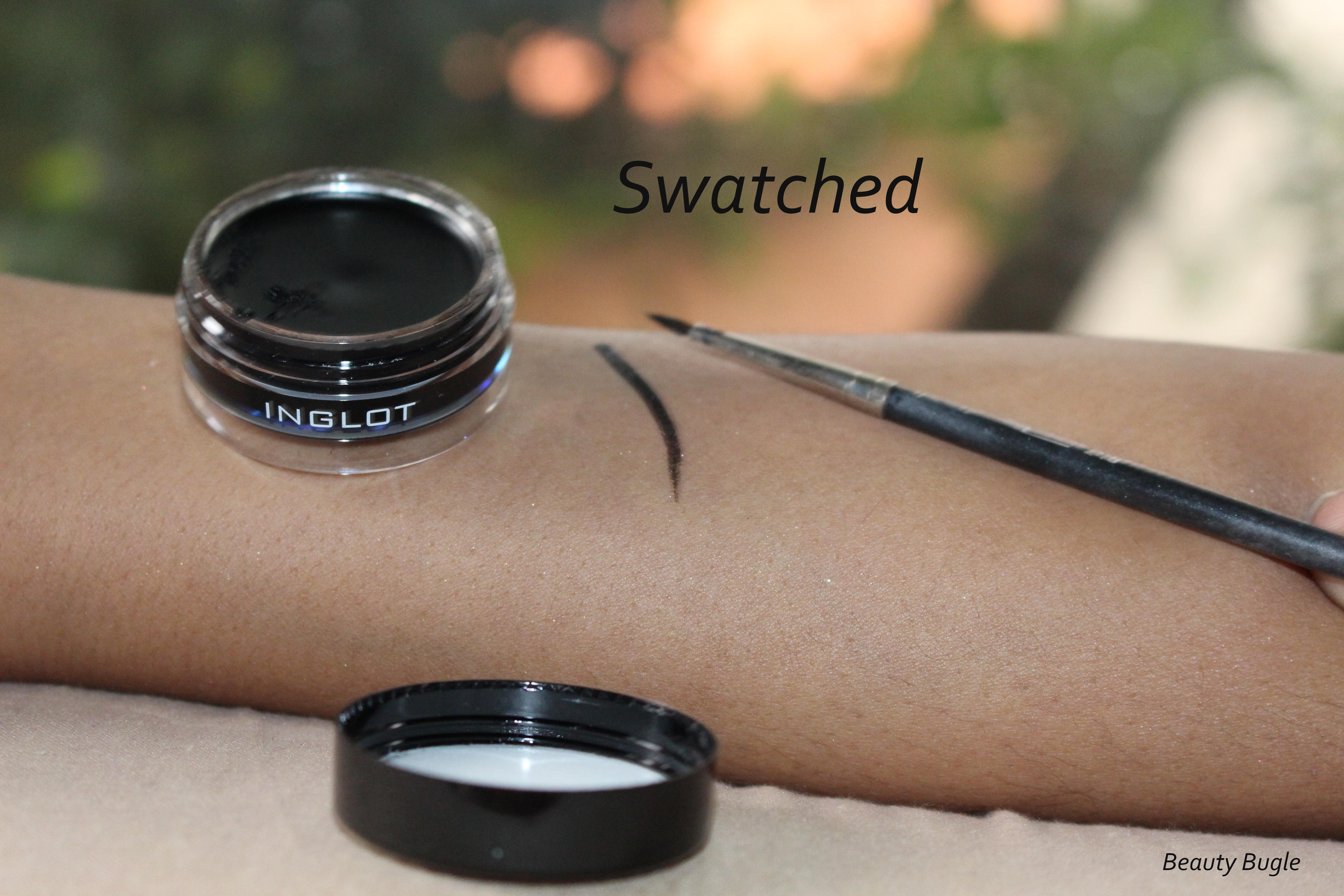 While difficult to use, the Ingot Eyeliner Gel 77 is the most intense black gel eyeliner shade I own. It is stunning.