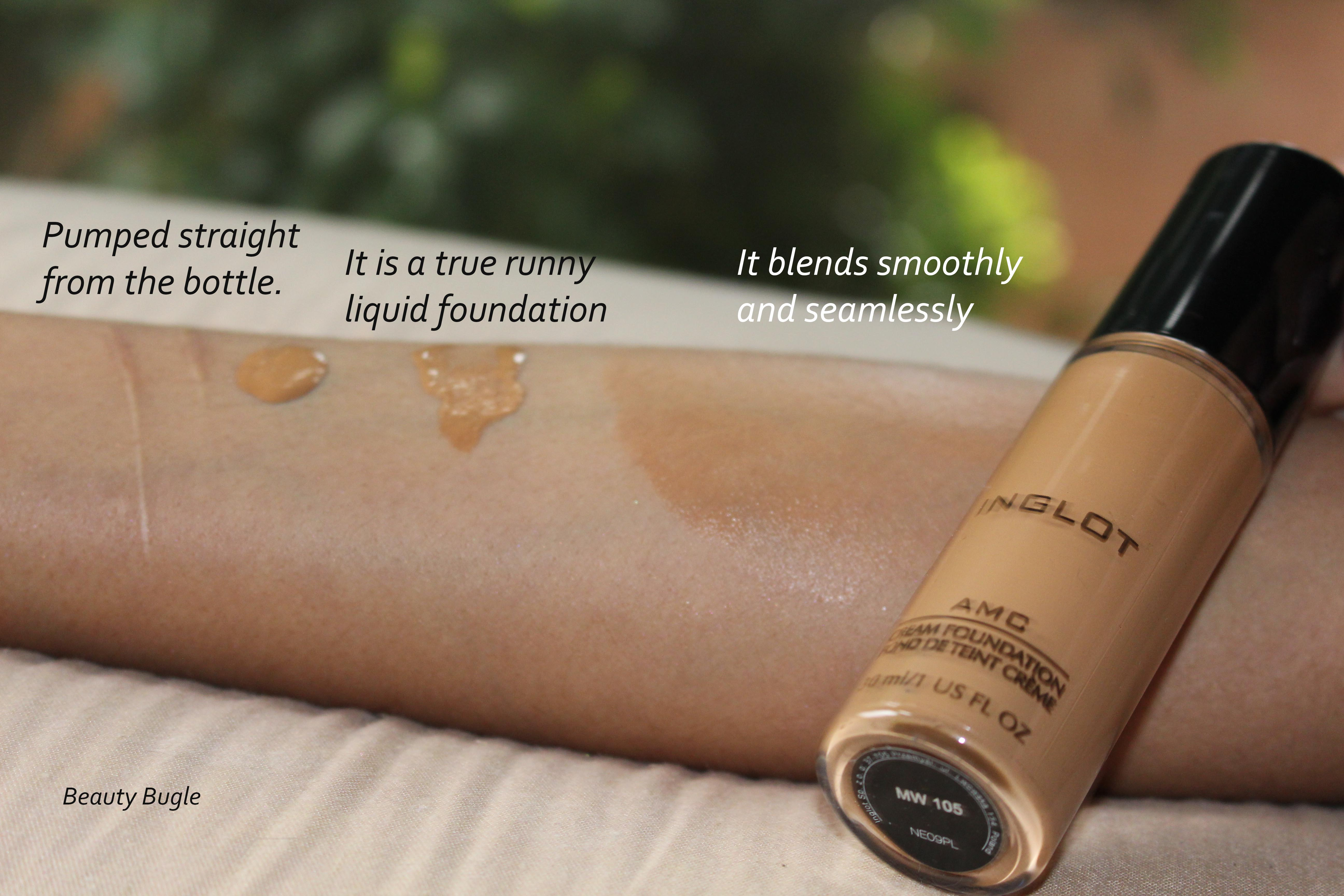 The luminosity of this foundation is unreal and it blends seamlessly.