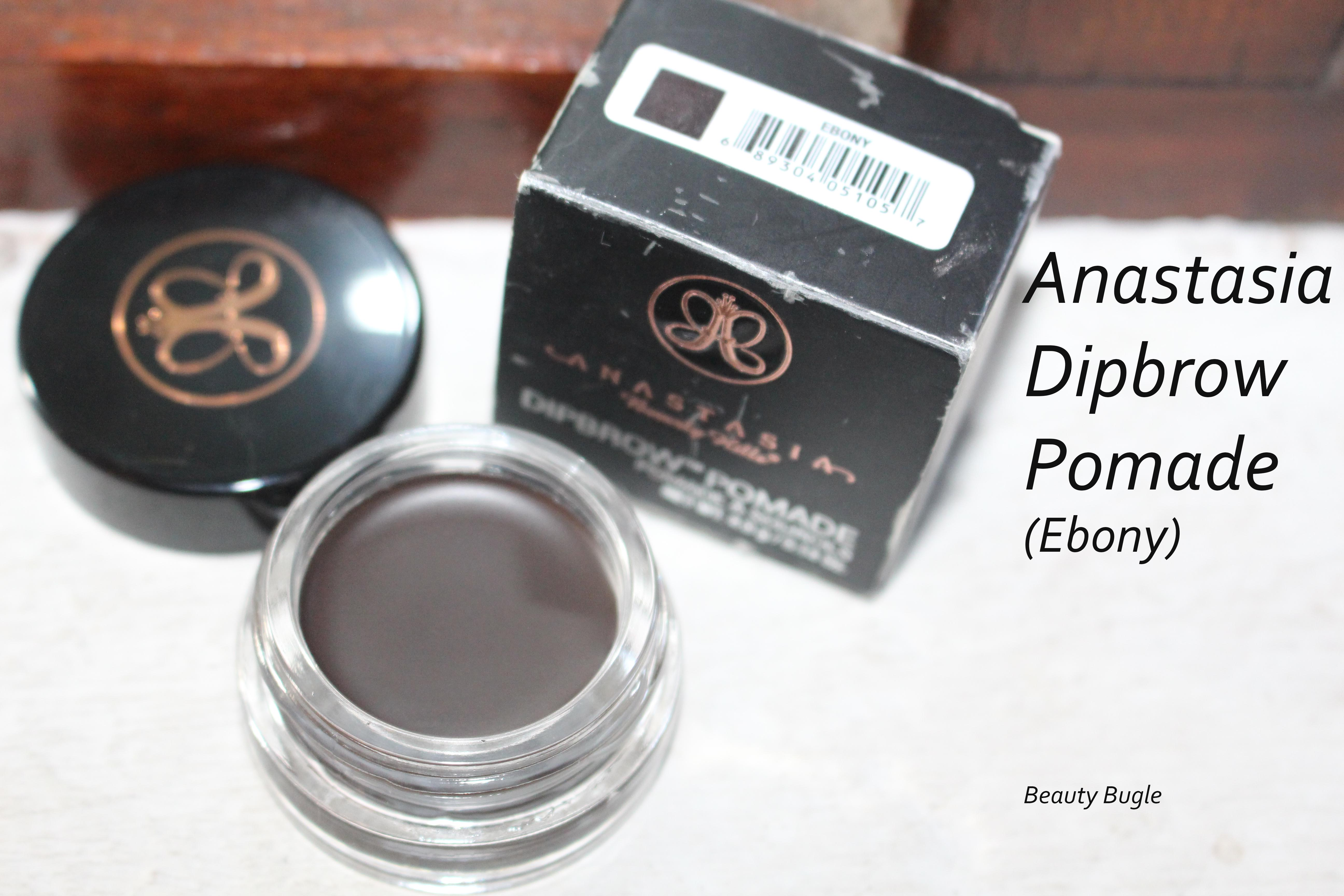 Oh My Brow Anastasia Beverly Hills Dipbrow Pomade Review Ebony