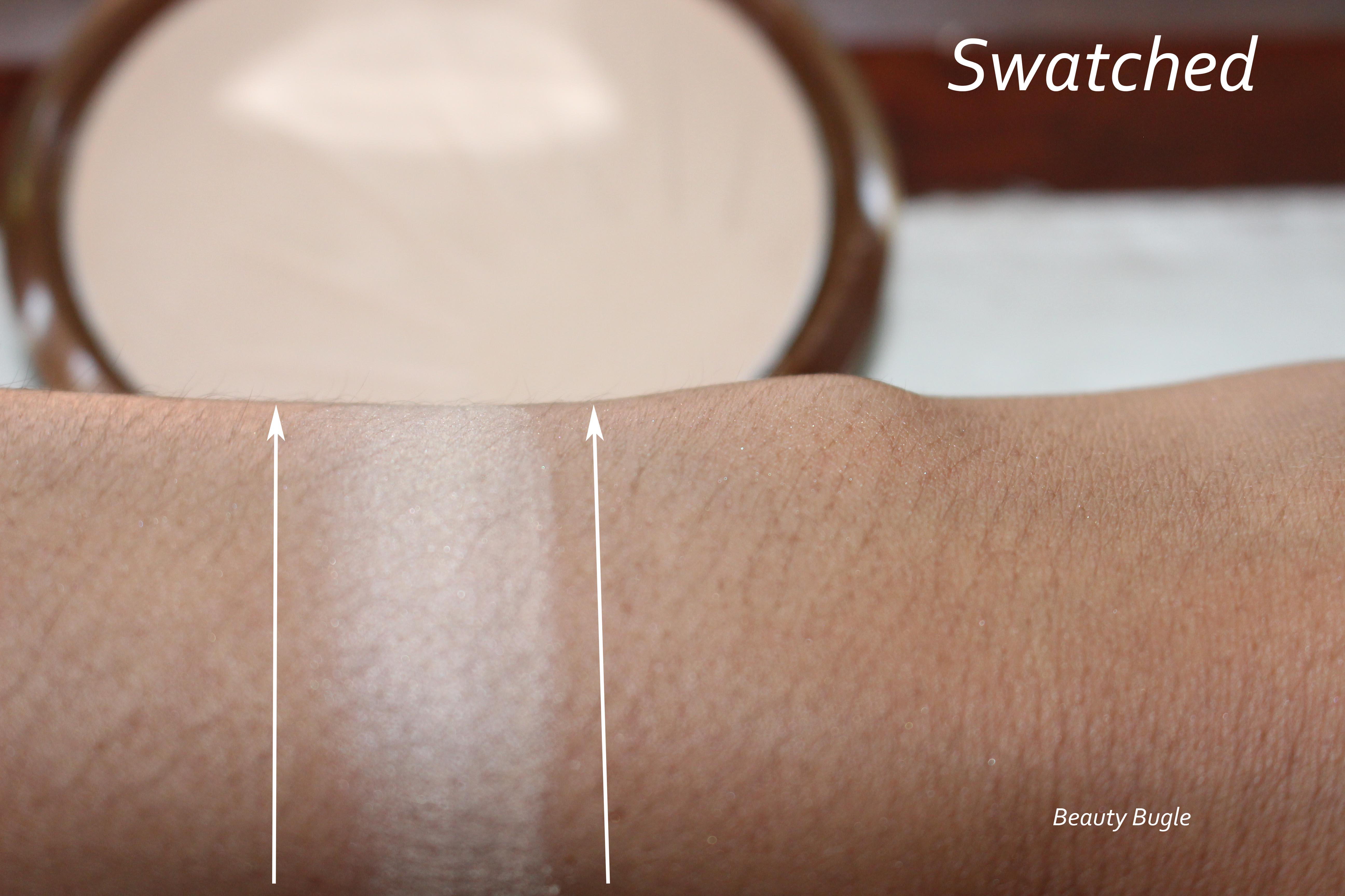 Reserve Your Cabana looks chalky and ashy when swatched.