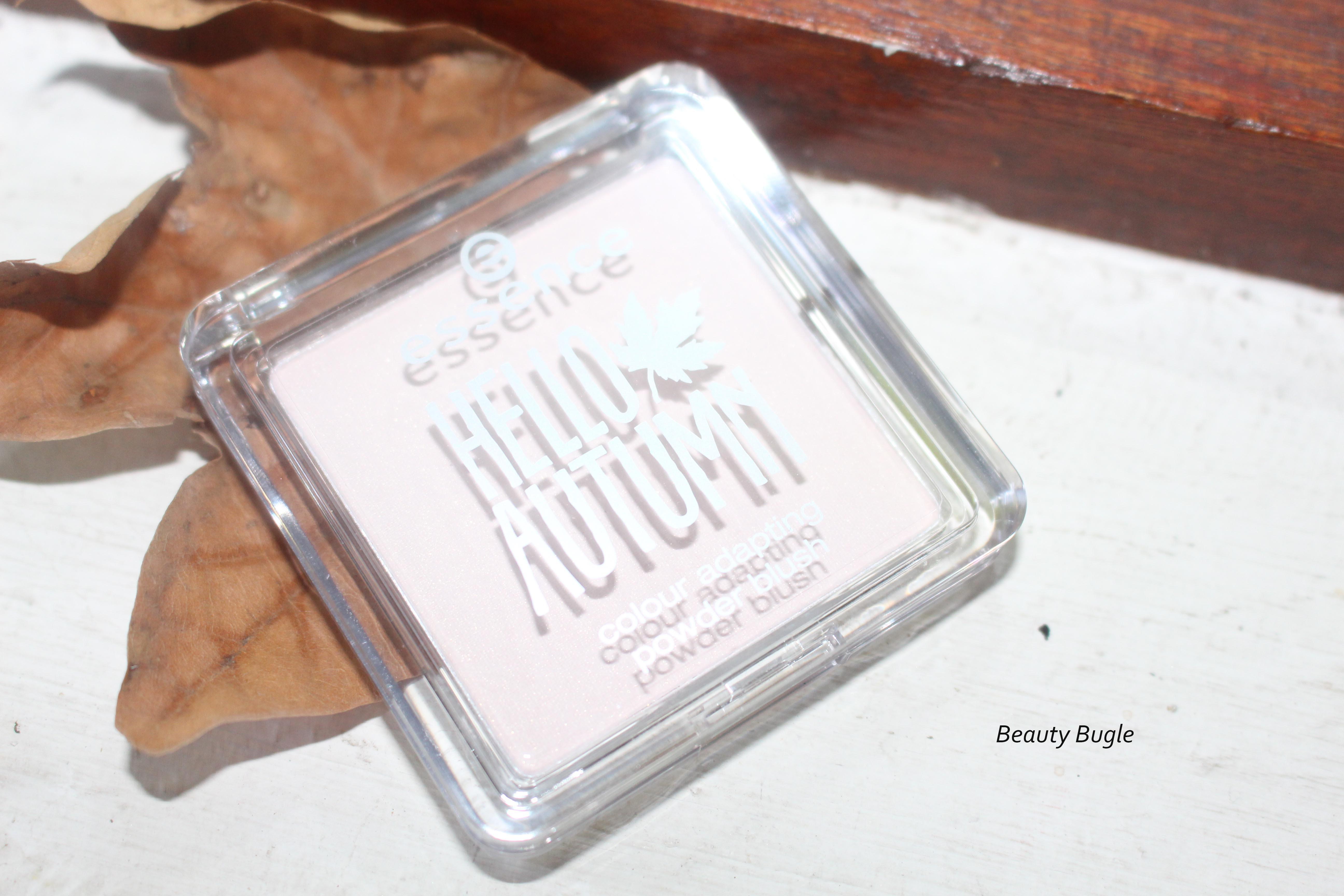 Essence Hello Autumn Beautifall-Red Colour adapting powder blush.