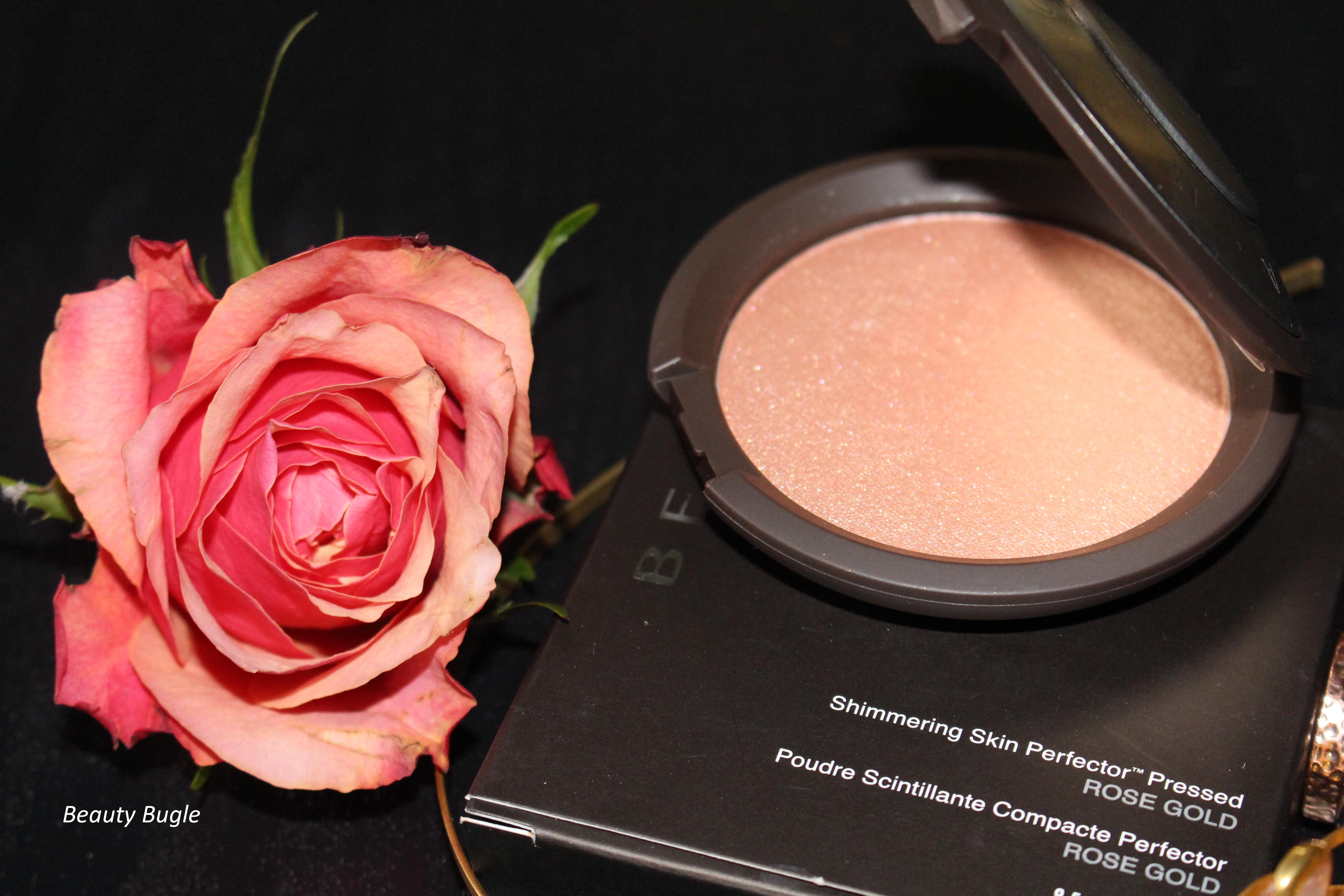 Becca Shimmering Skin Perfector in Rose Gold.