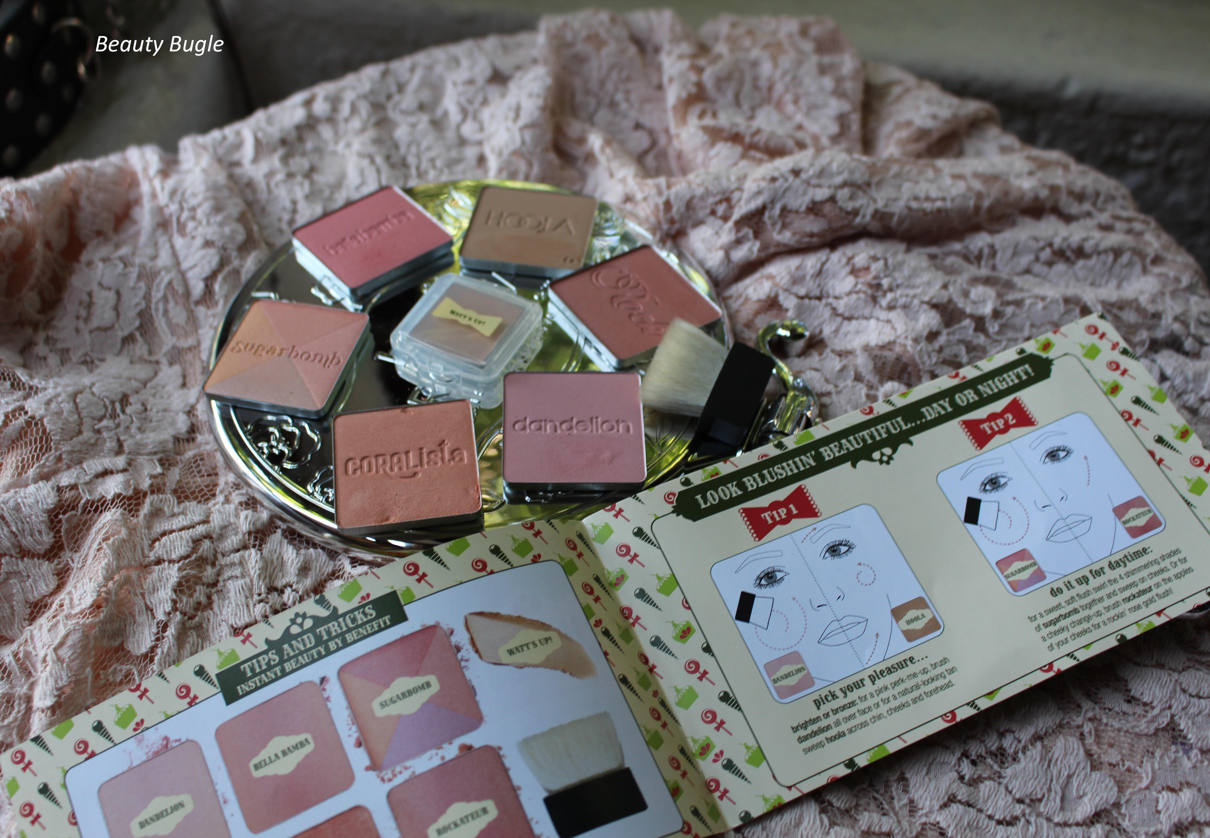 The whole lot of Benefit's Box 'o Powders
