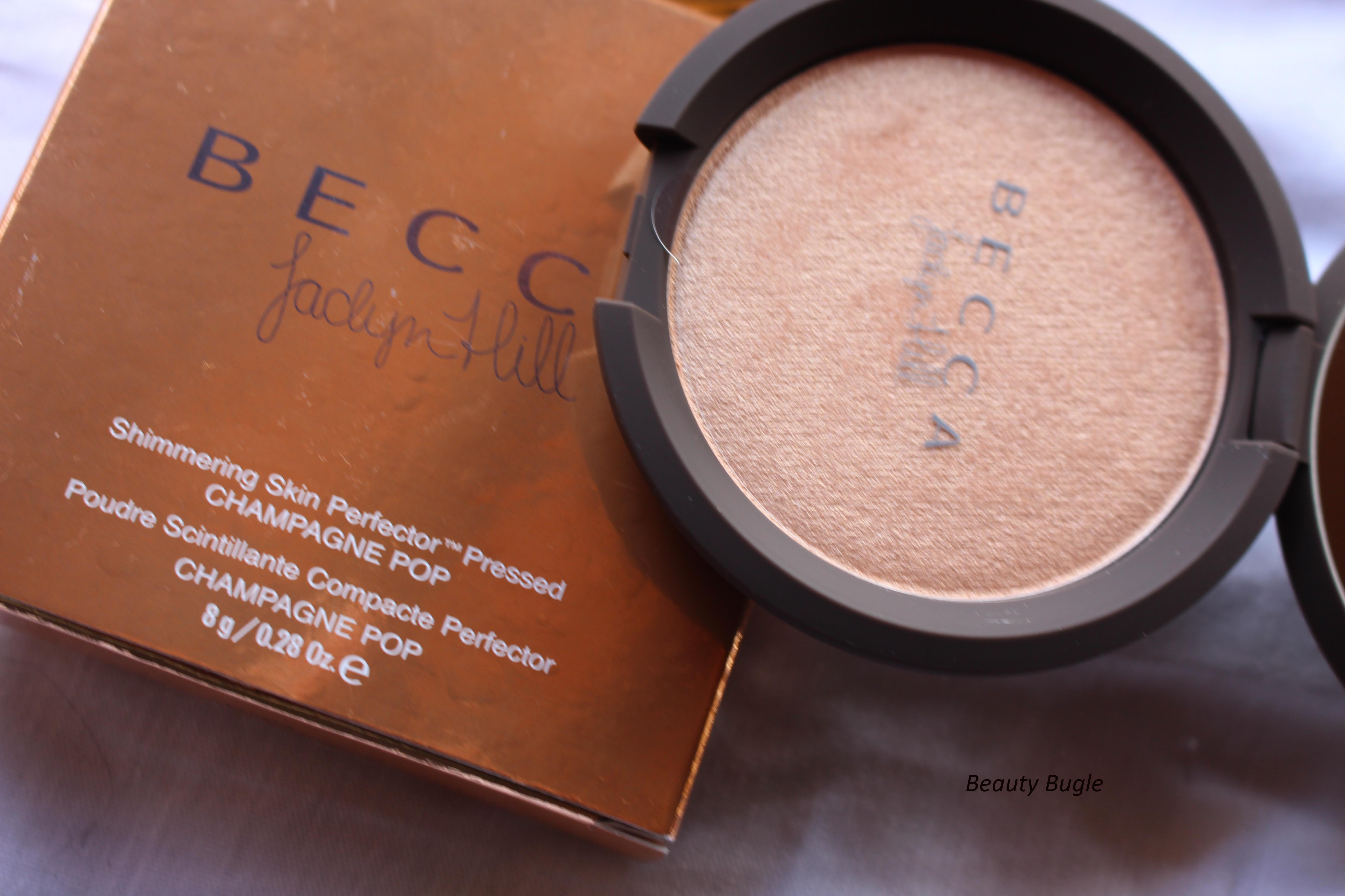 Bring out the bubbly! Becca Champagne Pop {Review and Swatches ...