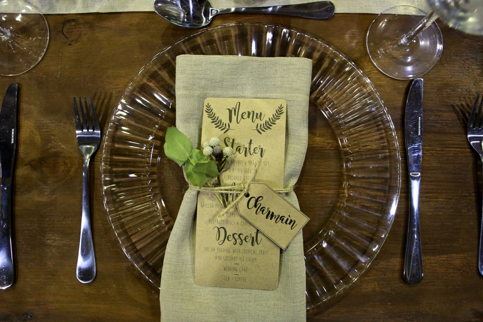 decor and table arrangement ideas will be the order of the day.