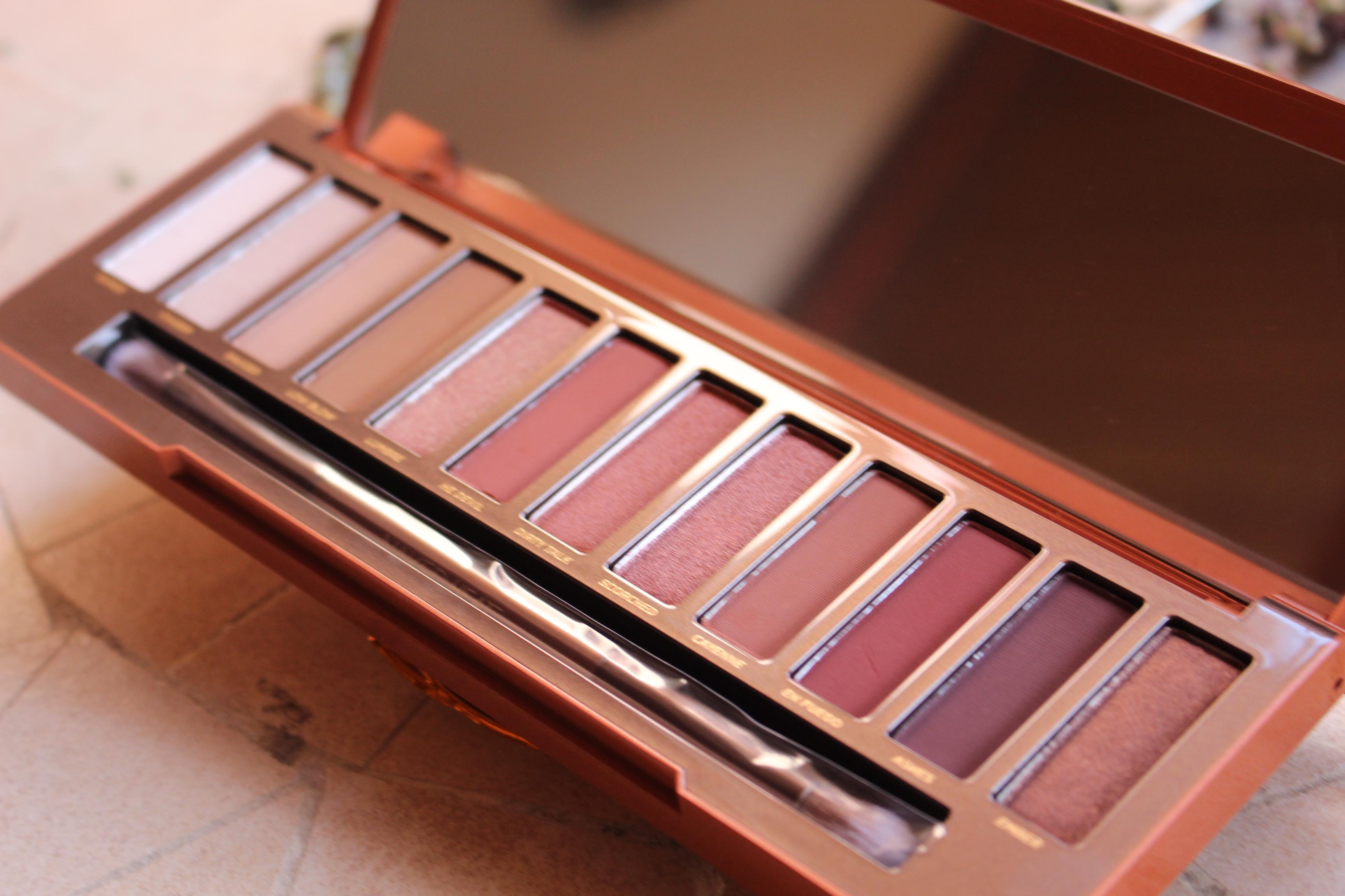 Hot or Not? Urban Decay Naked Heat {Review and Swatches}
